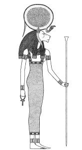 The Zodiac sign Leo is modeled after the Lioness Goddess Akeru.