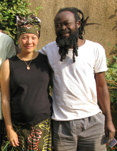 Prophet Neb Naba Lamoussa Morodenibig (right), with Imaya Khefira Hasati (left).
