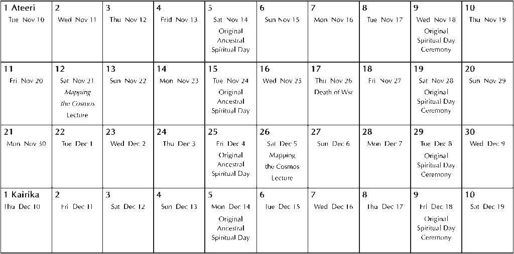 Sunnyside 15.2 Event Calendar
