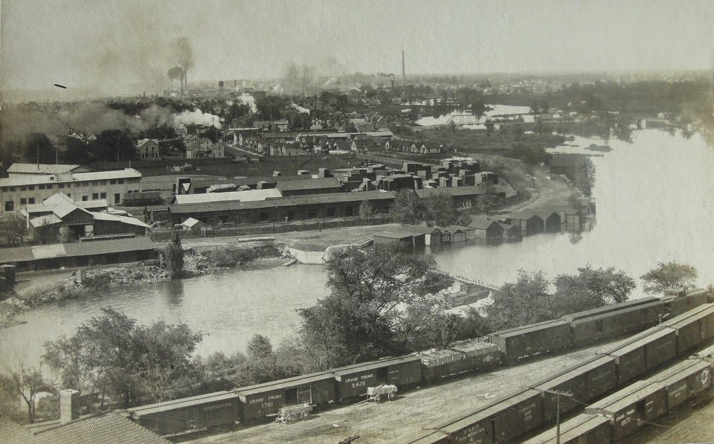 Flint GM factory 1910
