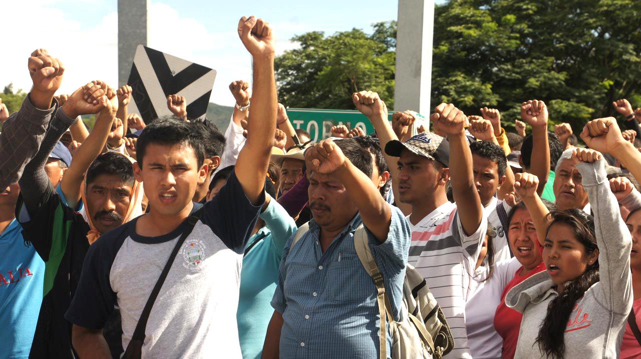 Mexico anti-violence protest Tlachinollan cc