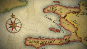 Saint Domingue map
